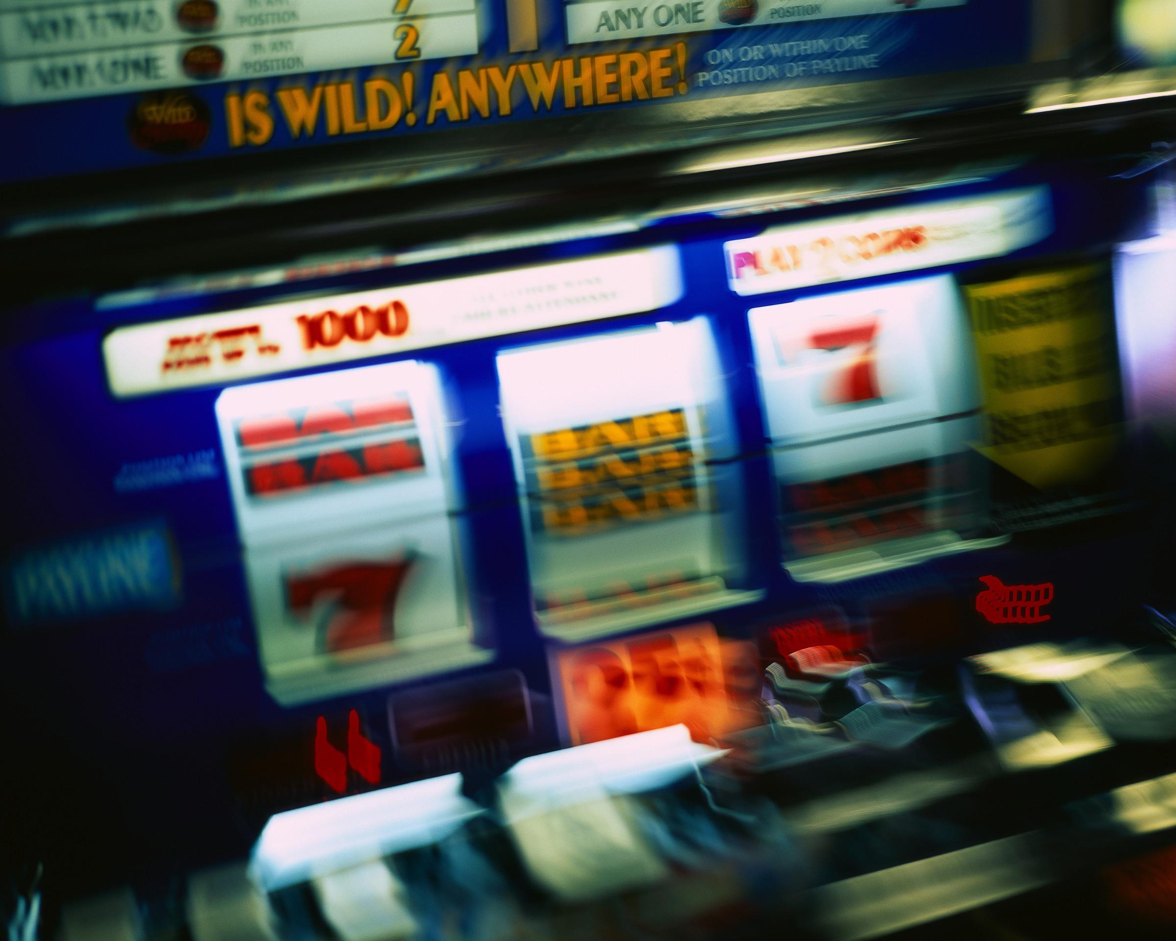 Bilde av spilleautomat