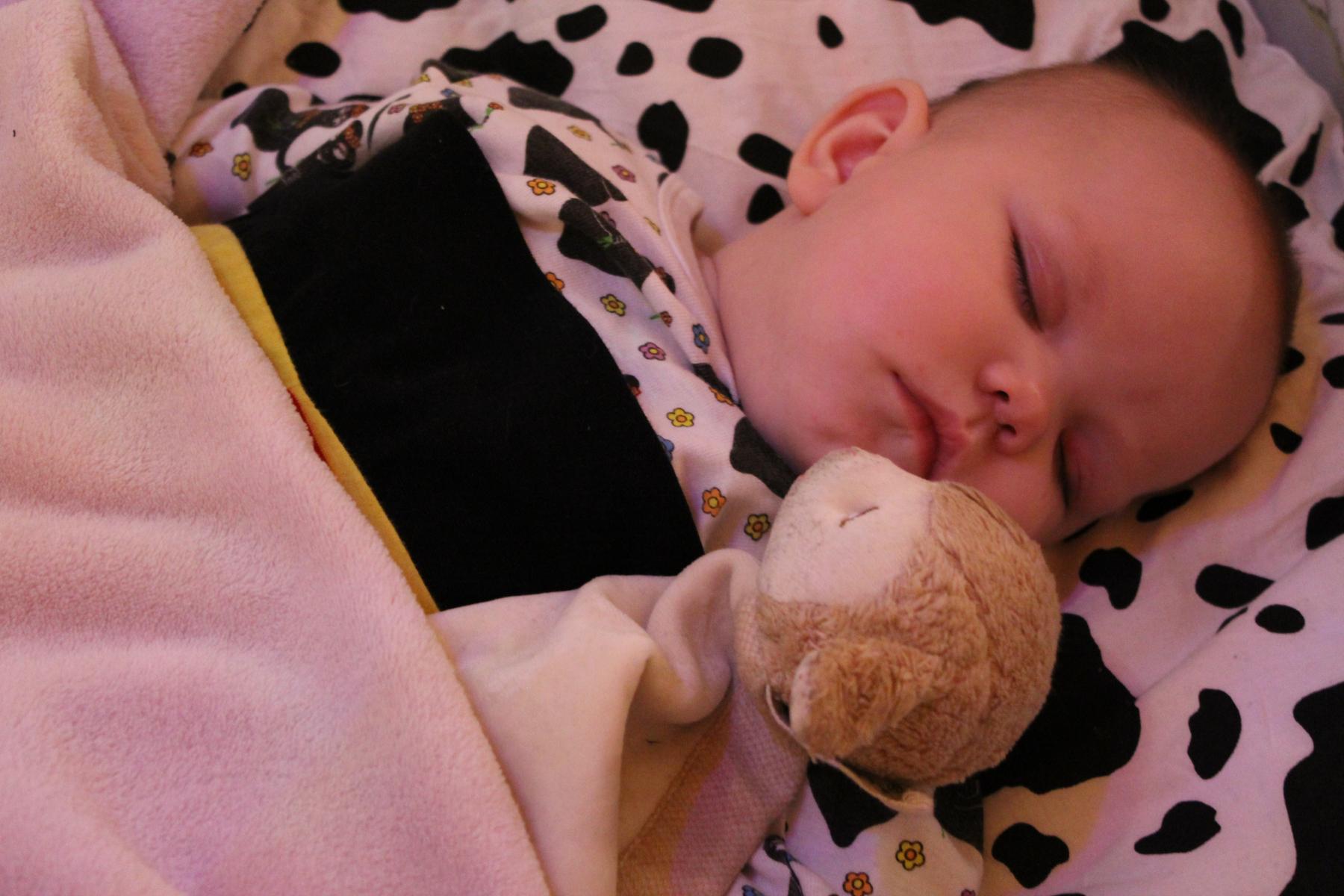 Bilde av sovende baby