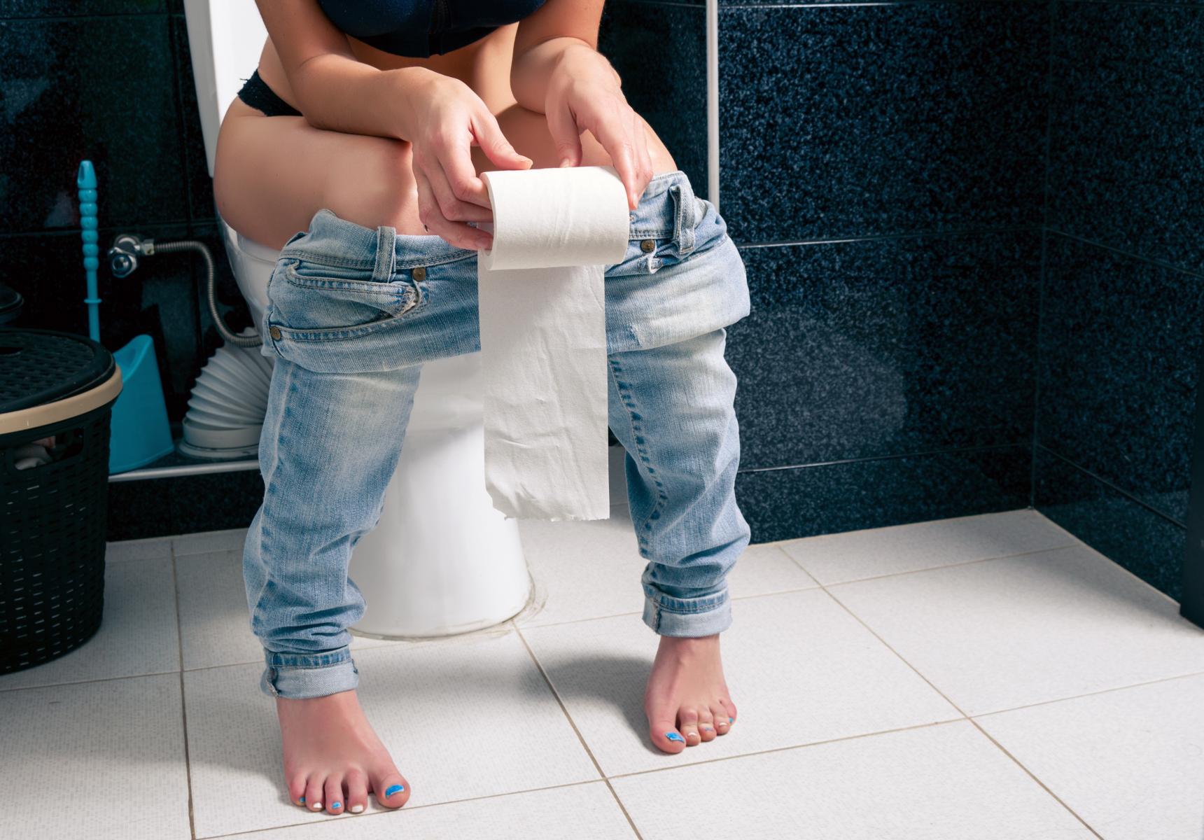 Kvinne har urinveisinfeksjon