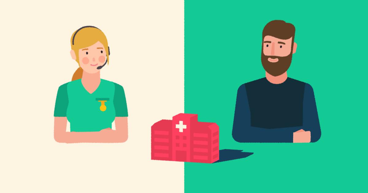 En rådgiver kan hjelpe deg med å velge behandlingssted