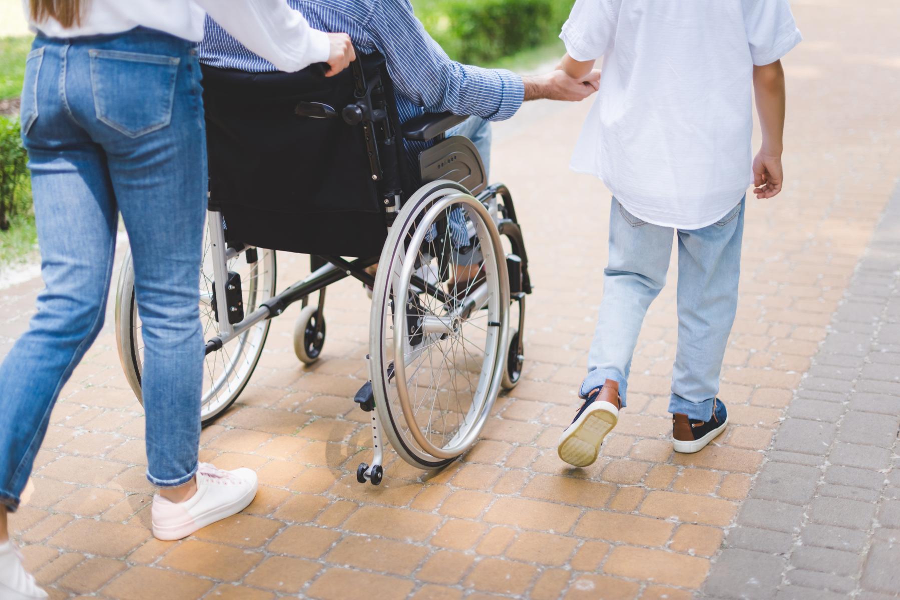 Pasient i rullestol