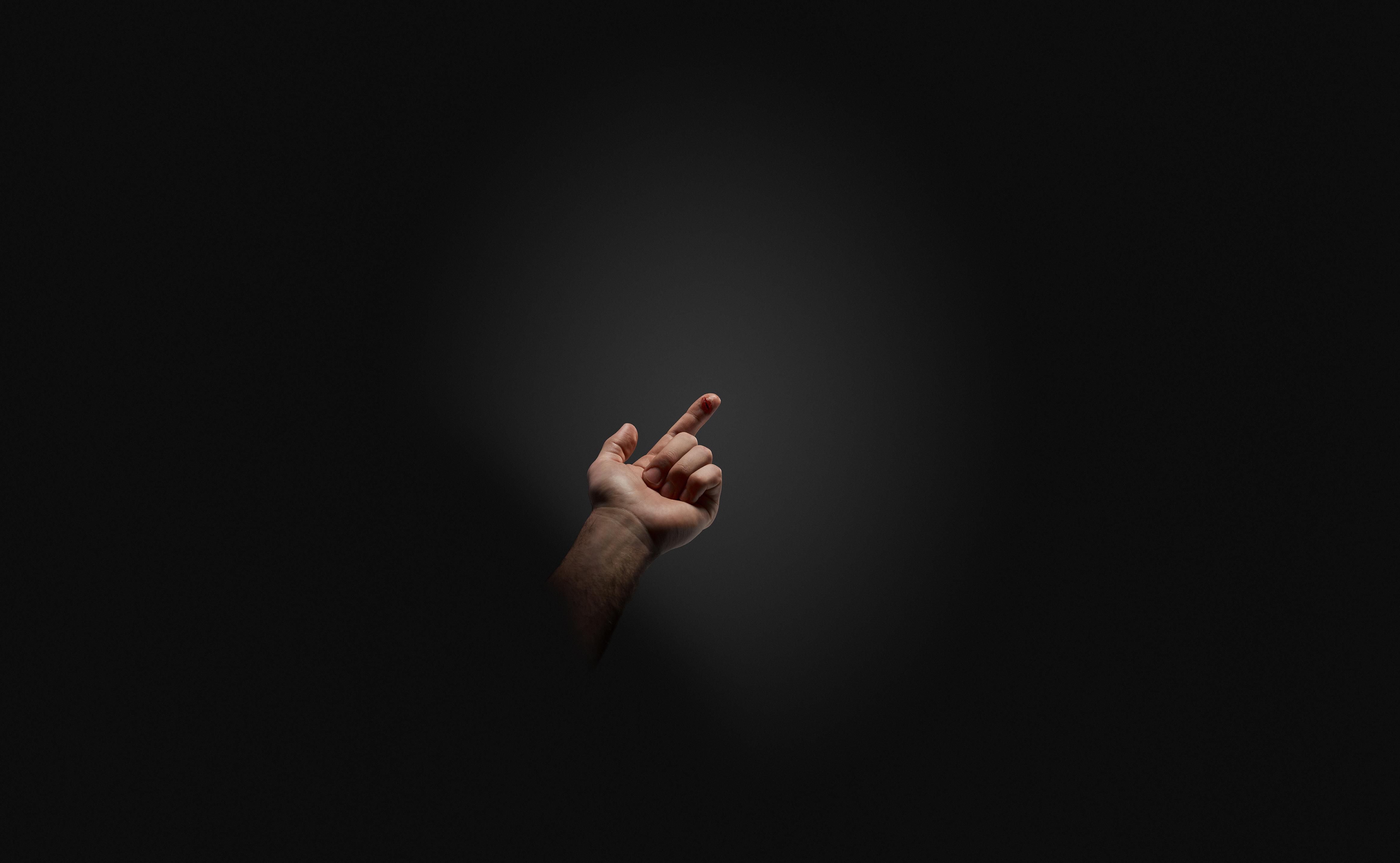 Et kutt i fingeren kan bli farlig hvis vi bruker for mye antibiotika