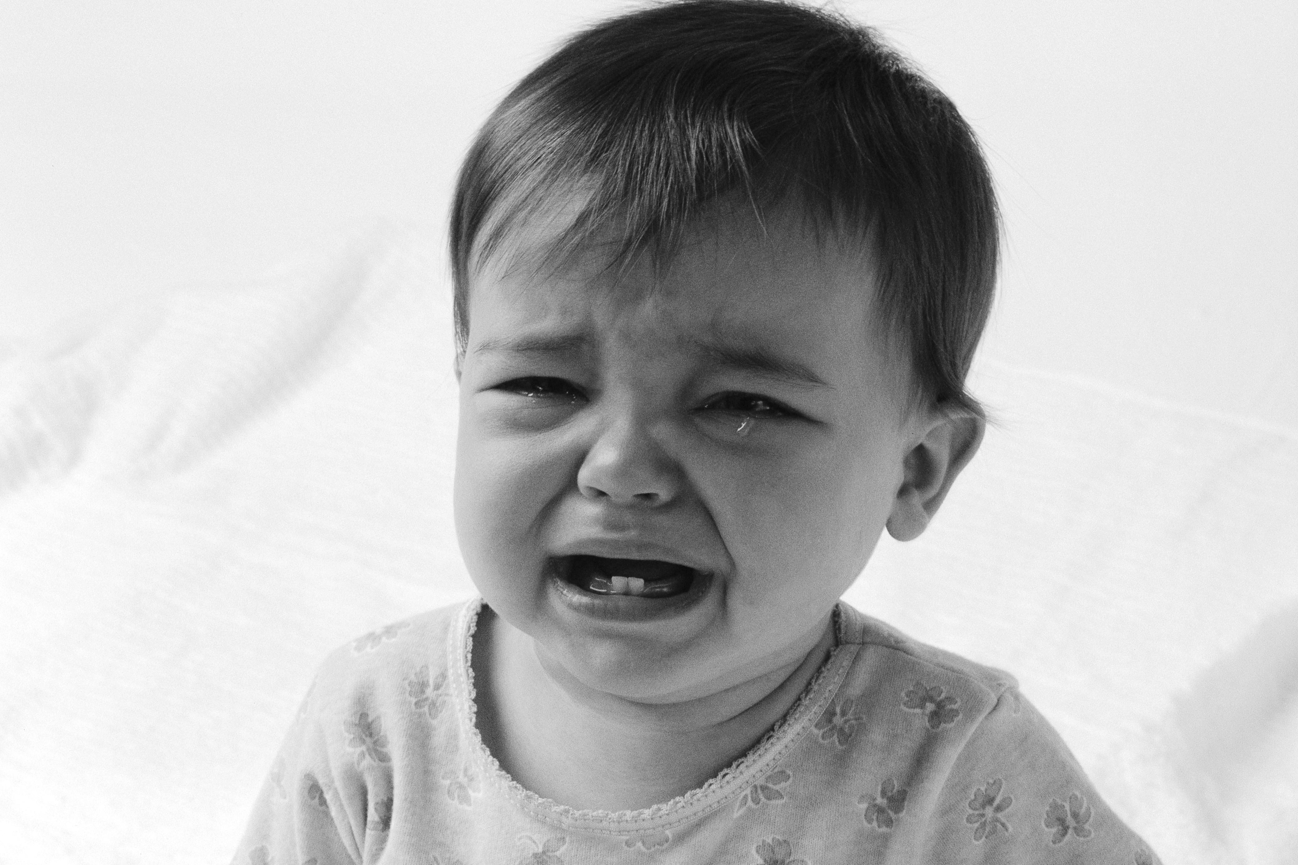 Baby som gråter