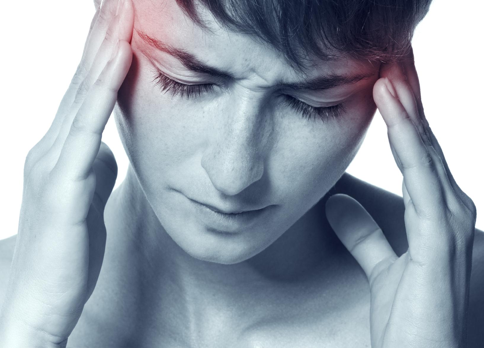 Migrene beskrives som svært sterk hodepine.