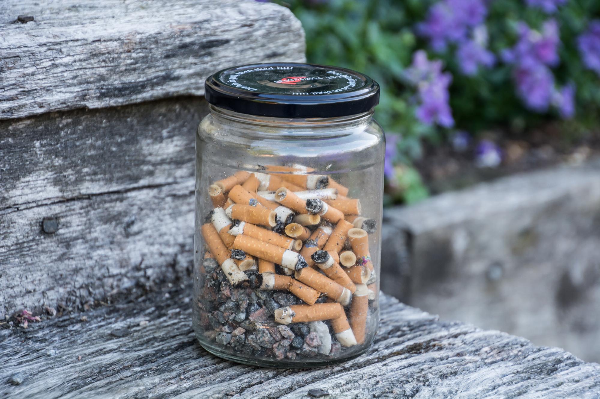 Sigarettstumper