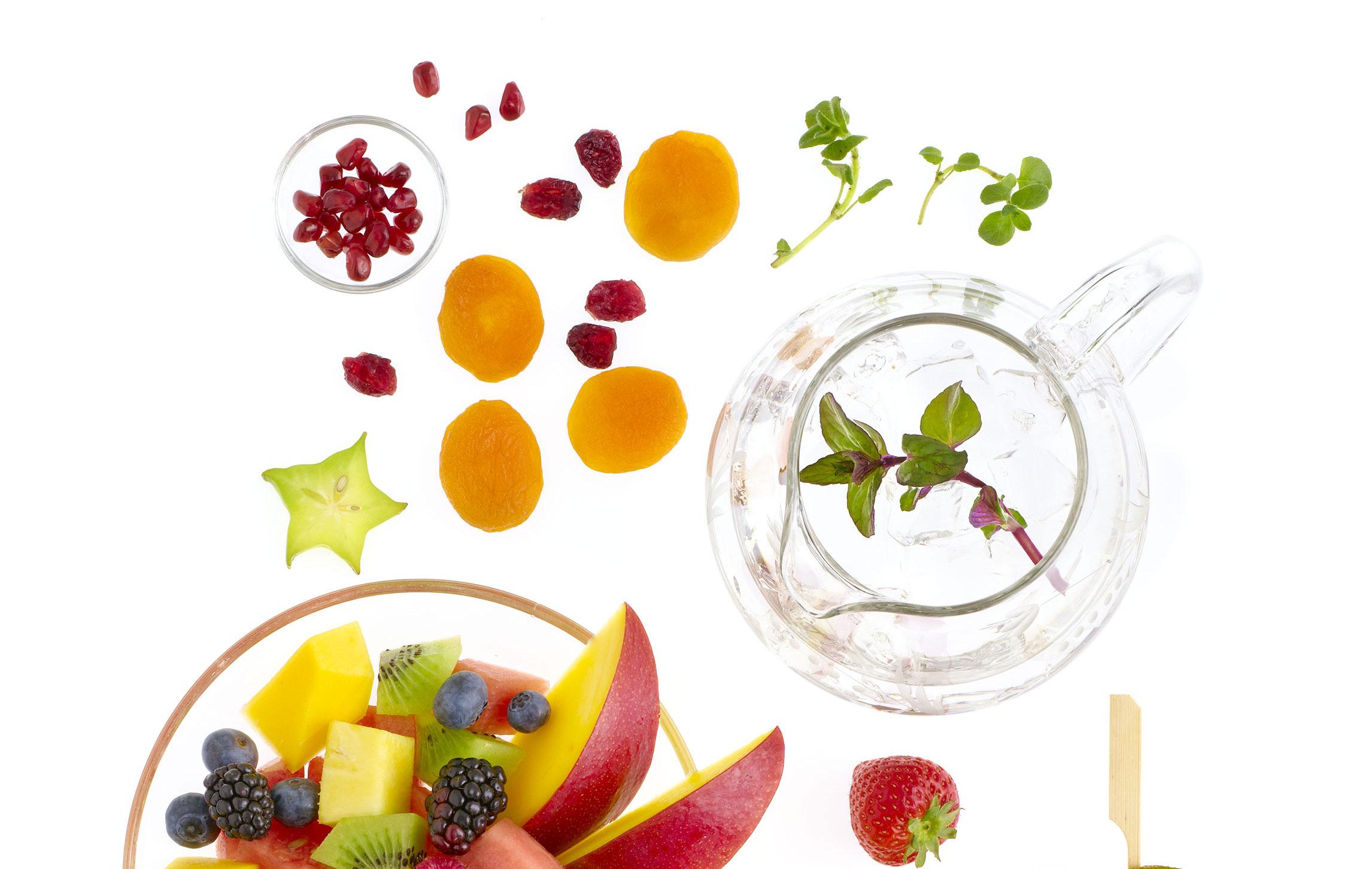 Vann og frukt